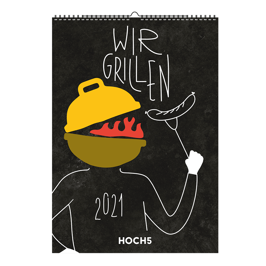 WIR GRILLEN Kalender 2021